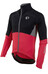 PEARL iZUMi P.R.O. Pursuit Softshell Jacket Men Black/True Red